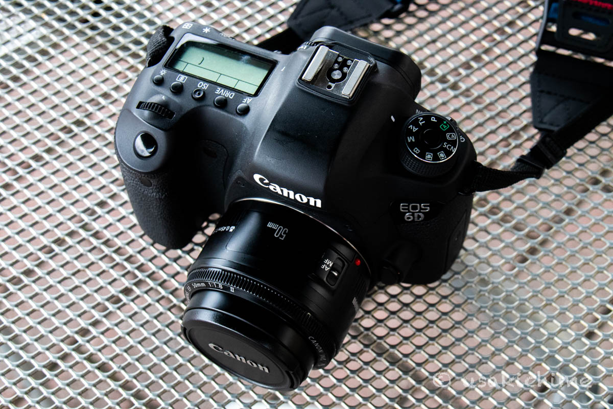 【デジタル一眼レフカメラ】CANON EOS 6D 初代@長野道 梓川SA