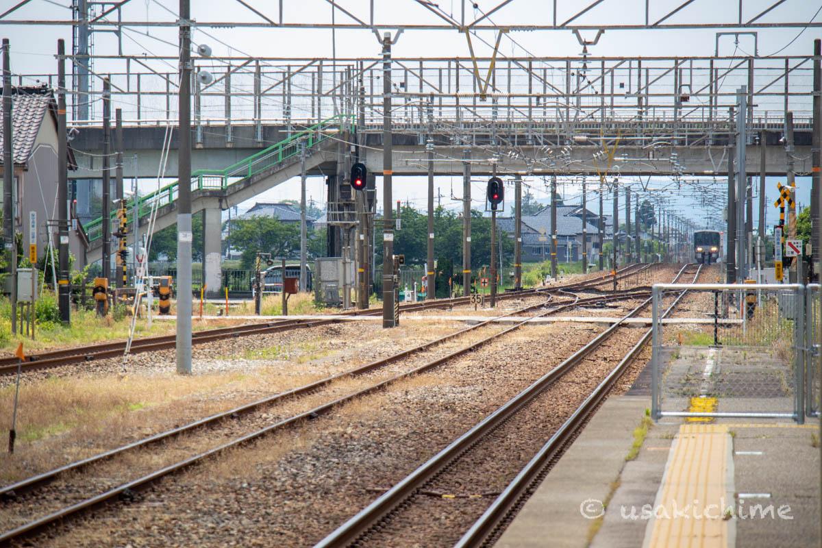 車両@あいの風とやま鉄道線 福岡駅