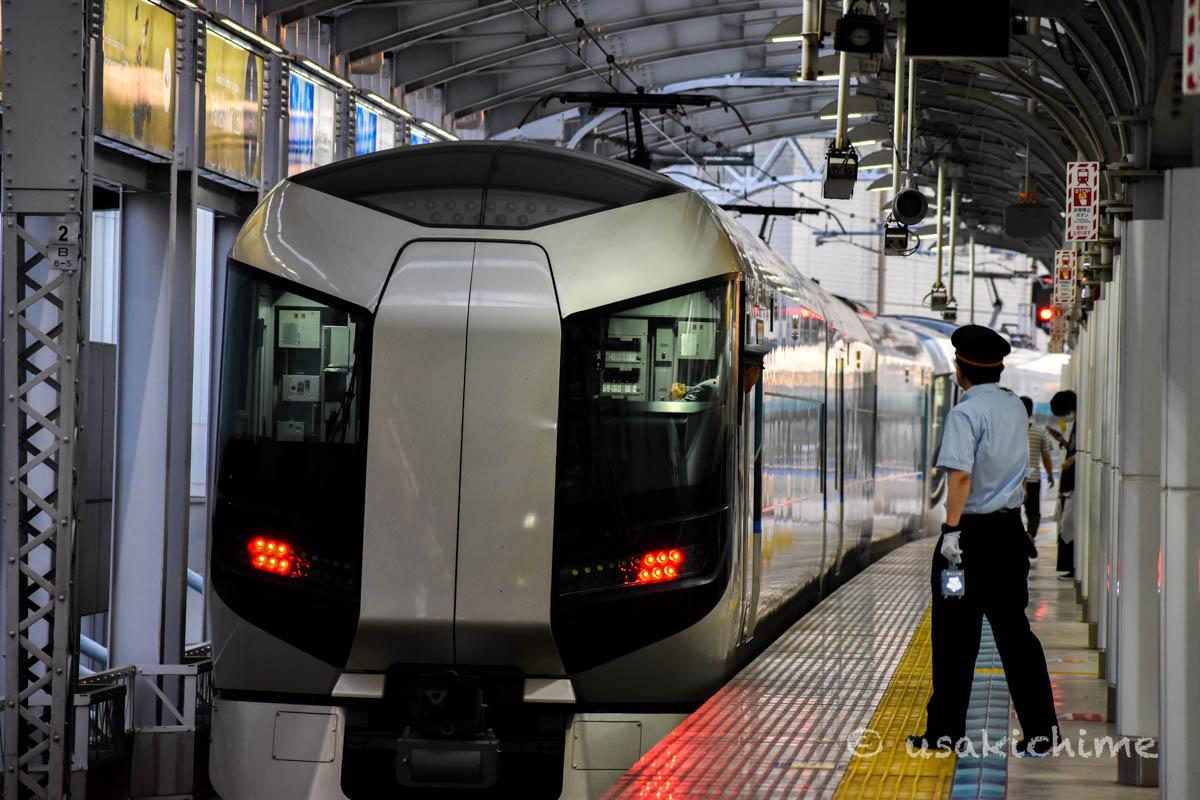 電車@とうきょうスカイツリー駅(東武スカイツリーライン)